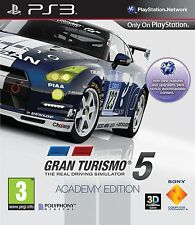 Gran Turismo 5 Academy Edition for Sony PlayStation 3 - BRAND NEW SEALED