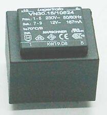 Printtrafo 12V/230V EI30 1,8VA 32,6x27mm 6x23,7mm 150mA