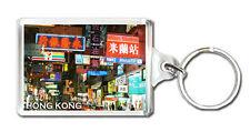 HONG KONG STREET KEYRING SOUVENIR LLAVERO