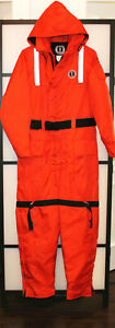Mustang Survival Flotation Suit Überlebensanzug Neopren MS 185 Größe L + XL