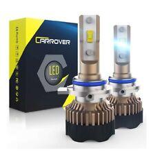 9012 HIR2 LED Headlight Bulb, CAR ROVER 60W 12000Lumens Extremely Bright 6000K