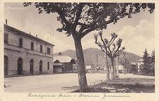 1635) ROMAGNA SESIA STAZIONE FERROVIARIA.