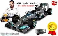 BURAGO 41226 H MERCEDES AMG W05 Hybrid F1 model car WC Lewis Hamilton 2014 1:32