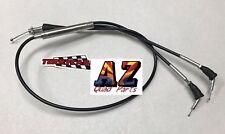 Banshee 350 Terry BLACK Vinyl Dual Thumb Throttle Cable PWK PJ Carbs 28-39mm