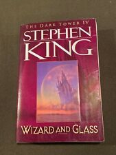 Stephen King The Dark Towner IV Wizard and Glass Softback Book 1997 1st Ed 1st P
