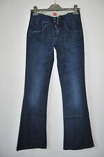 HUGO BOSS Jeans Gr 34/36 Hose Damen 26/32 EDEL dunkelblau 179,- STRETCH D1307
