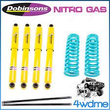 """Mitsubishi Pajero NA - NF NH NJ NK NL 4WD Dobinsons Complete 1.5"""" Lift Kit"""