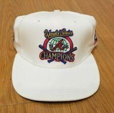 Atlanta Braves Official 1995 World Series Locker Room Cap Hat