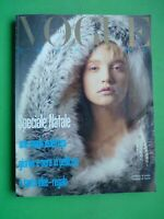 Vogue Italy Shopping 429 December 1985 December Furs Fur Fourrure Pelz Fashion