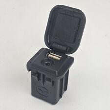 Mazda 3 5 6 Stereo USB Audio Input 3.5 AUX Jack Square Socket Genuine C860V6657