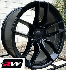 (4) 20 RW Wheels for Chrysler 300 Satin Black Rims Hellcat Wide Body Challenger