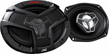 Pair of JVC CS-V6938 6-Inch x 9-Inch 3-Way Coaxial Car Audio Speakers 400W Peak