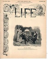 1894 Life March 8-Income Tax;Cornell poisoning of colored cook; Ban appendectomy