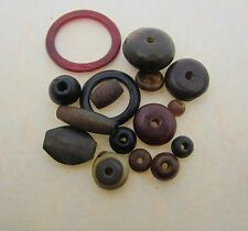 500 Horn & Bone Beads Many Colors; Red, Brown, Black ect. Assorted Size & Shapes