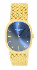 Patek Philippe Elipse Blue Dial 18K Yellow Gold Watch 3546 Archive Extract