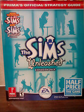 THE SIMS unleashed PRIMA OFFICIAL STRATEGY GUIDE  FAST DISPATCH