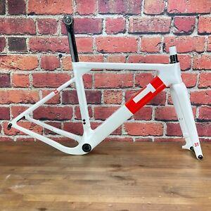 3T Exploro Team Small Disc Brake Carbon Gravel Bike Frameset 700c 2221g