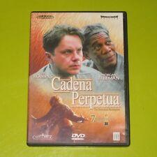 DVD.- CADENA PERPETUA - MORGAN FREEMAN - TIM ROBBINS