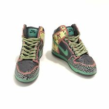 mini sneaker 3D dunk high DE LA SOUL 1:6 action figure doll nike Laces M02-51