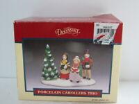 Vintage Lemax Dickensvale Collectibles Porcelain Porcealin Carollers #43113 LNIB
