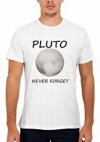 Pluto Never Forget NASA Space Planet Men Women Vest Tank Top Unisex T Shirt 1624