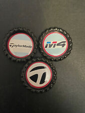 (3) TAYLORMADE - BOTTLE CAPS - GOLF BALL MARKERS