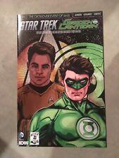 Star Trek Green Lantern (2015 IDW) #1 1CBLDF Limited to 500 NM Near Mint