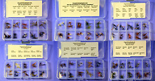 Master DRY Fly Assembly, 6 Kits !!, 120 Fly in Organized Kits: FREE SHIPPING!!