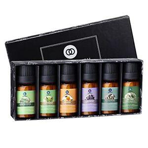 Lagunamoon Aceites Esenciales Top 6 Set de Regalo de Aceites de Aromaterapia ...