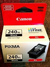 Genuine Canon 240 XL Fine Black Ink Cartridge BRAND NEW - NEVER OPENED