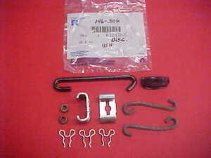 NOS-USED 70-72 CHEVELLE SS EL CAMINO PARK BRAKE HOOKS CONNECTORS EQUALIZER CLIPS