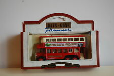 Lledo Days-Gone - 1931 AEC Renown Double Decker Bus - Rose's Lime Juice -49001