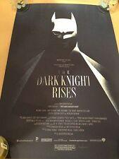 The Dark Knight Rises by OLLY MOSS -Mondo
