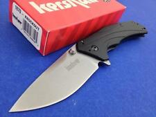 Couteau Kershaw Knockout A/O Lame acier 14C28N Manche Alu Made In USA KS1870