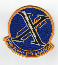 370 Flight Test Squadron, Edwards, CA BC Patch Cat No C6640