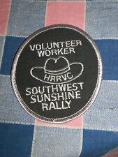 "Unused Patch Volunteer Worker Hrrvc Southwest Sunshine Rally 3 7/8"" High"