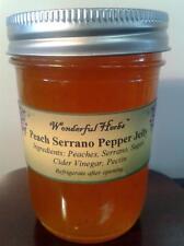 Peach Serrano Pepper Jelly