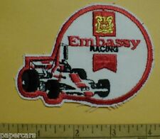 1974 Embassy Indy auto Racing Formula 1 New vintage hat Patch Lola T370 Hu2 F1