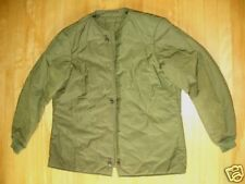 "CANADIAN MILITARY COMBAT COAT LINER SIZE 75/38"" G68"