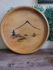 """Wood tray Collector """"Springtime Romantic 12'"""