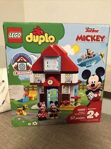 LEGO 10889 DUPLO DISNEY JR. MICKEY'S VACATION HOUSE 2 SEASONS 10889 NEW