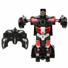 Transformer 2 in 1 rc toy remote control car driving sports robot kids fun play