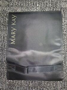 Mary Kay Satin Black Foldable/Removable Hanging 4 Pocket Travel Bag - Brand New