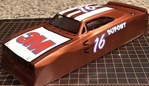 "1/24 Custom Painted ORIGINAL PARMA Retro Dodge Charger Slot Car Body/41/2"" W.B."