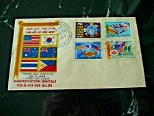Vietnam - Saigon 1968 First Day Cover - Amicable Manifestation Vis-A-Vis Allies