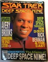 Star Trek Deep Space Nine Official Magazine - Avery Brooks - Posters Included