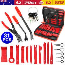 31pcs Car Trim Removal Tool Auto Hand Tools Pry Bar Dash Panel Door Interior Kit