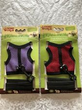 Living World Harness/Lead Md Asst Colors, by Living World