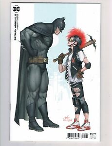 BATMAN ANNUAL #5  (2021)  INHYUK LEE VARIANT COVER....ORIGIN OF CLOWNHUNTER