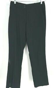 NIIKE - WOMEN'S SIZE 6 - BLACK DRI FIT GOLF PANTS